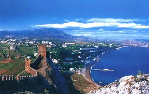Отдых у моря в Судаке Крым